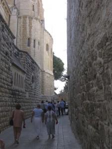 305 Sikátor a Szent Sionon a Dormito templom mellett  jav