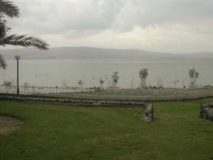 A Genezáreti-tó Ein-Gevnél.