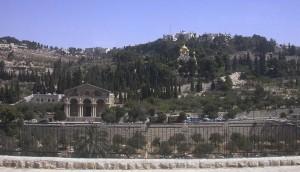 Jeruzsálem, Olajfák hegye.