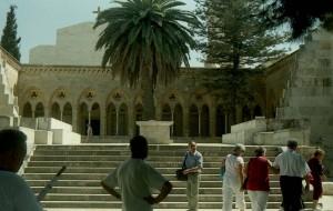 Jeruzsálem, Olajfák hegye. A Miatyánk-templom.