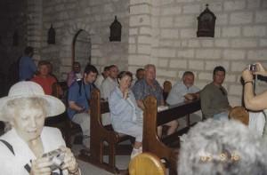 Kána. A Víz borrá változtatásának templomában.