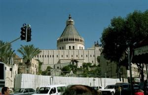 Názáret. Az Angyali Üdvözlet bazilika.