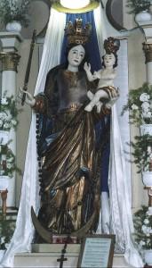 Sarlós Boldogasszony jelképszobra, Futásfalva, Háromszék